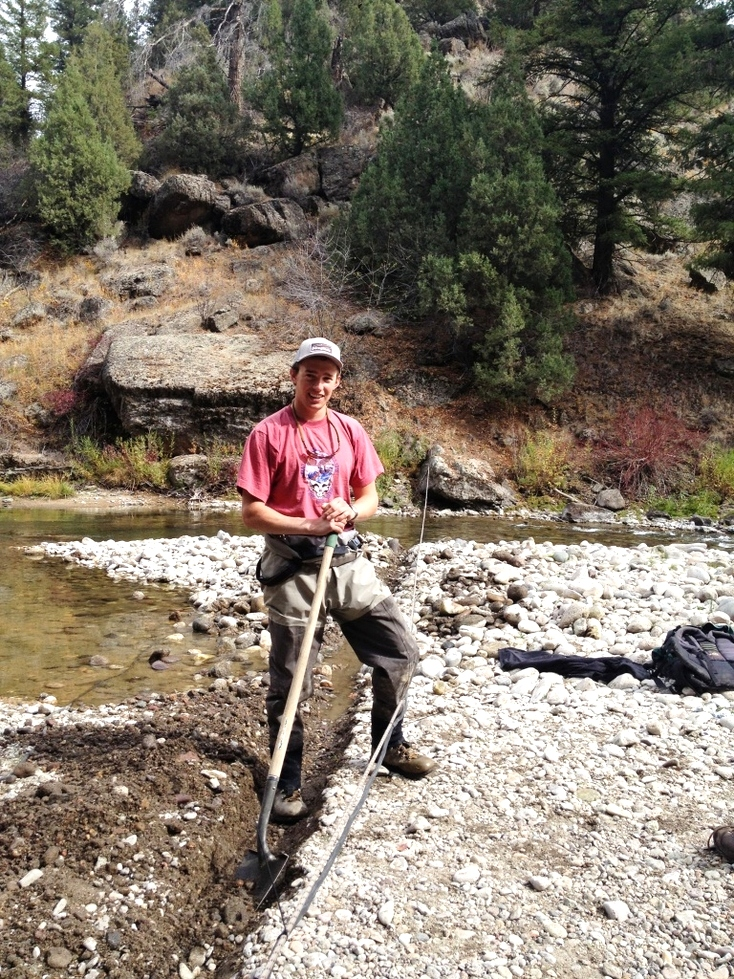 Yellowstone Cutthroat Trout PIT tagging and telemetry study 2012 Stream Restoration